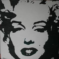 Pop Art Paintings by Hilary | Marilyn Monroe