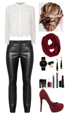 """""""Today's Outfit- 9-11-15"""" by indiegopearl ❤ liked on Polyvore featuring Chay, Michael Antonio, prAna, Monki, Larsson & Jennings, House of Harlow 1960, Essie, MAC Cosmetics, Burberry and Bobbi Brown Cosmetics"""