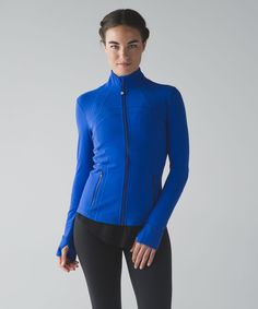 Release Date: 6/2016. Original Price: $118. Materials: Luon. Layer on this warm, lightweight jacket before you hit the hiking trails or head to the studio. Luon®Our sweat-wicking, four-way stretch Luon® fabric is cottony soft—we love this high-performance fabric for its serious stretch and recovery in all our sweaty pursuitssweat-wickingfour-way stretchcottony-soft handfeelquick recoverynaturally breathableLYCRA®Added LYCRA® fibre for great shape retentionstretchgreat shape retentionlong...