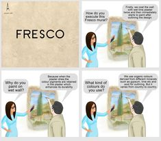 #ArtConversations : It's the turn of Fresco today!!!  #AnantArt #Fresco #Discussion#Painting #Medium #PaintingStyle #ArtConversations #BrowseArt #TypeofArtwork #Murals