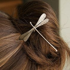 silver dragonfly hairpin - £68 - Emma Ginnever (Not on the High St)