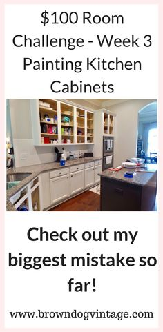 Thrifty Kitchen Makeover   Week 3 (And A Big Mistake