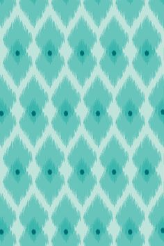Excellent Turquoise and Aqua Ikat