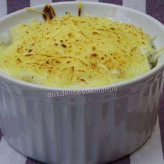 Cassolette aux noix de Saint-Jacques et champignons au riz crémeux