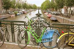 groen/blauwe fiets