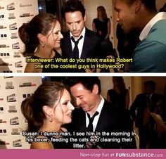 Susan Downey keeps it real