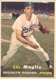 1957 Topps Sal Maglie
