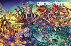 This months gameinformer cover is incredible. Any way to get it as a poster?