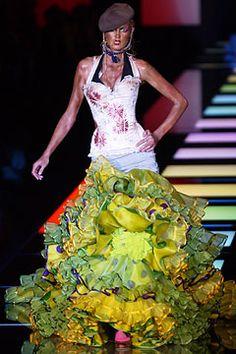 John Galliano for Christian Dior, Fall 2003.