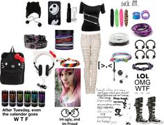 """""""well i have emo style what do u have?"""" by xxemoturtlesxx ❤ liked on Polyvore"""