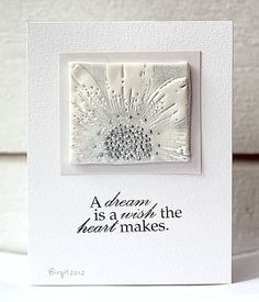 IC333 White and Silver by Biggan - Cards and Paper Crafts at Splitcoaststampers