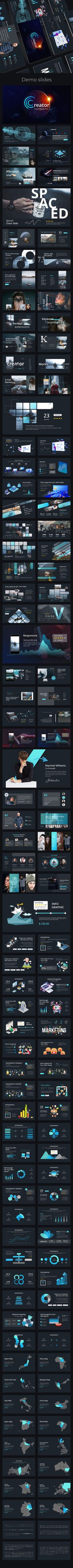 #Creator #Creative #Powerpoint Template - Creative PowerPoint Templates