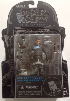 "Star Wars The Black Series Starkiller Galen Marek 3.75"" Action Figure #Hasbro"