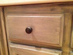 Diane's custom finished cabinets!