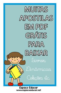 MUITAS APOSTILAS EM PDF GRÁTIS PARA VOCÊ BAIXAR! - ESPAÇO EDUCAR Abc For Kids, Learn Korean, Lettering Tutorial, Study Hard, Kids Church, Home Schooling, Pre School, Kids Playing, Homeschool