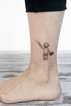 Small and Adorable Tattoos by Ahmet Cambaz from Istanbul - TheTatt tat. - Small and Adorable Tattoos by Ahmet Cambaz from Istanbul – TheTatt tattoo ideen Sma - Mom Baby Tattoo, Tattoos For Baby Boy, Tattoo Mama, Mommy Tattoos, Tattoo For Son, Family Tattoos, Tattoo Girls, Tattoos For Women, Tattoos For Your Son