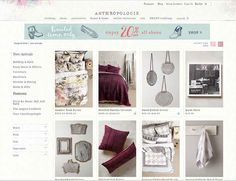 Anthropologie The Most Affordable Furniture And Home Decor Websites Ever Furniture Shopping