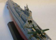 1:1250 Amerikanisches Atom-u-boot 571 Schiffsmodell