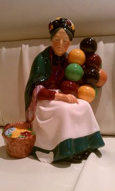 Royal Doulton Figurine HN1315 The Old Balloon by MissMinimalist, $99.00