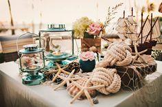 sea theme wedding decor