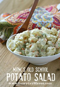 Mom�s Potato Salad (Paleo Friendly)