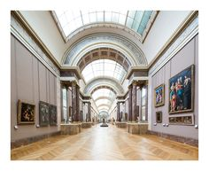 archatlas: LE LOUVREFranck Bohbot Le Louvre,... - monolithos