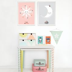 Damaged Nesting Tables Get a Colorful Fix, via Design Sponge
