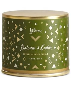 Illume Holiday Large Vanity Tin Candle Collection