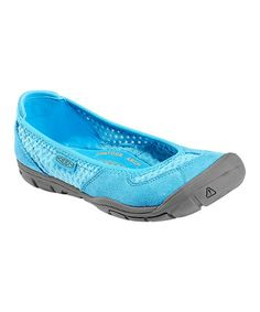 One of my favorite styles of Keens is on sale at Zulily :: Norse Blue Mercer CNX Ballerina Flat