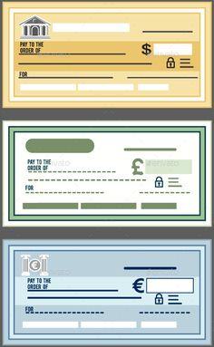 Bank Check Graphic Print Template | Pinterest | Print templates ...
