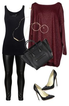 Winter date night by thea-mercer on Polyvore featuring Blukey, Juvia, Studio, Brian Atwood, Topshop and plus size clothing
