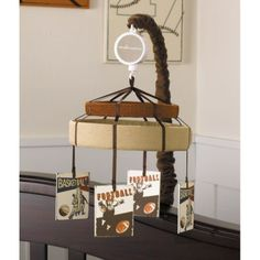 Love this Cooperstown Musical Mobile from CoCaLo Couture - it's only $48.95 right now!  Putting it on my wishlist!  Check it out at JustKidsStore.com