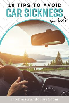 10 Essential Tips to Avoid Car Sickness in Kids featured by top US family travel blogger, Momma Wanderlust Road Trip With Kids, Travel With Kids, Travel Couple, Family Travel, Amazing Destinations, Travel Destinations, Spring Break Trips, Wanderlust Travel, Road Trips