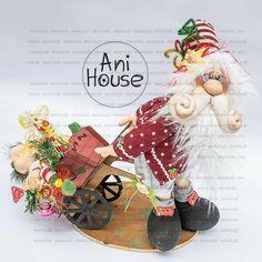 Christmas Fabric, Christmas Stockings, Cornish Pixie, Fabric Decor, Fun Crafts, Santa, Holiday Decor, Ideas, Christmas Houses