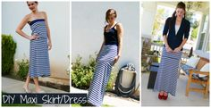 DIY maxidress tutorial from someone who doesn't like to sew! I like that...