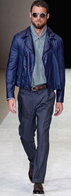 Giorgio Armani 2015 | Men's Fashion | Menswear | Smart Casual | Moda Masculina | Shop at designerclothingfans.com