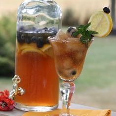 Picnic Drink: StoneGable Blueberry Iced Tea