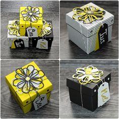 Boxes Sizzix Blog - FlebbeArt - Verschluss Befestigung Idee