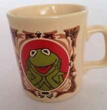 Kermit Cup Mug Muppet Show Jim Henson Vintage NEW Kiln Craft  England 1978