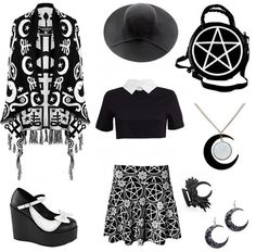 Outfit inspo! #outfitinspiration #outfitideas #Killstar #rogueandwolf #demonia…