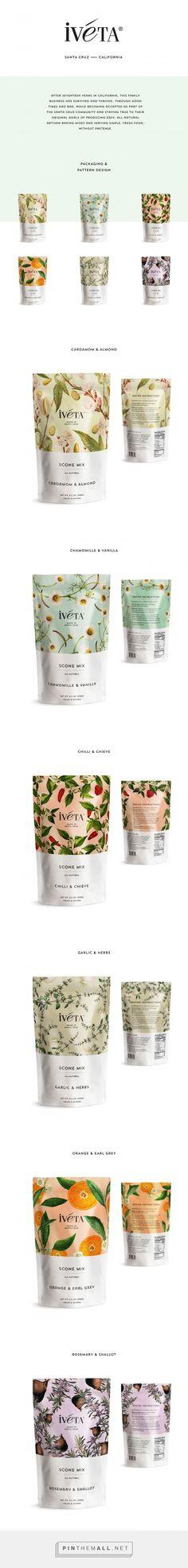IVETA Scone Mix Packaging by Alvarez Juana | Fivestar Branding Agency – Design and Branding Agency & Curated Inspiration Gallery #packaging #design #inspiration #ideas #innovation #branding