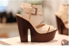 wedges high-on-heels