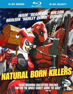 fb7dd82718a54b deadpool x harley quinn x natural born killers Dc Heroes