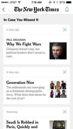 News Missed Reminder New York Times App