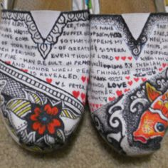 I want these so bad! Etsy.com search custom toms