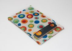 New to Chockrosa on Etsy: Thin wallet - Minimalist wallet - Business card holder - Business card case - Slim card wallet - Colorful Circles - white green red blue