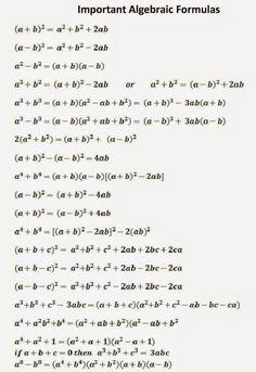 Geometry Formulas, Math Formulas, Mathematics Geometry, Life Hacks For School, School Study Tips, Math Formula Chart, Maths Solutions, Math Vocabulary, Gre Math