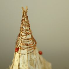 handmade Christmas decor made of natural materials by Gałecka Dekoracje - details
