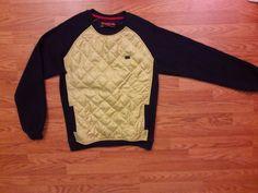Womens Sweater Bass by Ron Bass medium shirt top  #Bass #Crewneck