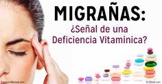 Las migrañas afectan a millones de personas en todo el mundo, y la investigación las ha vinculado a la deficiencia de vitamina D, riboflavina, CoQ10 y magnesio. http://articulos.mercola.com/sitios/articulos/archivo/2016/09/14/deficiencias-nutricionales-que-causan-migranas.aspx